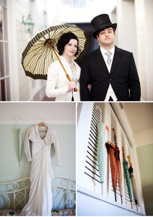 Downton Abbey-esque Wedding