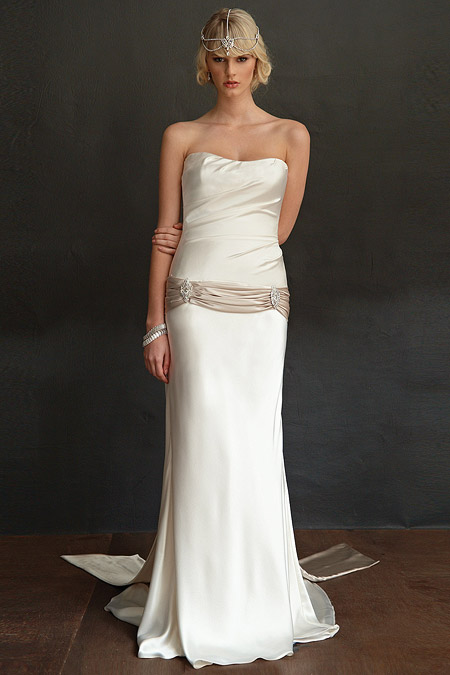 Art Deco Bridal Gown
