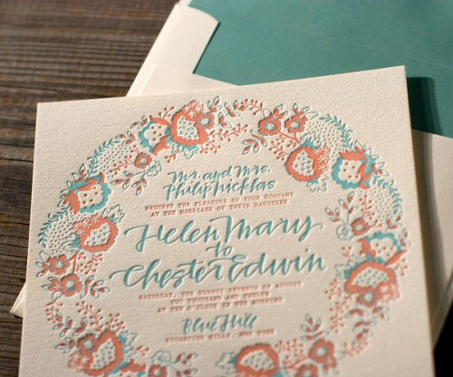 Romantic Whimsical Wedding Stationery