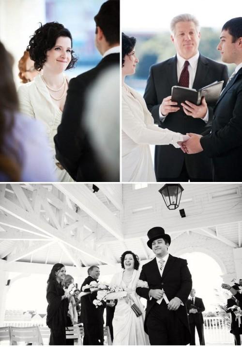 Downton Abbey Inspired Vintage Wedding