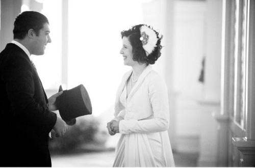 Downton Abbey Bride & Groom