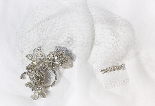 Mariana Hardwick Vintage Inspired Veil