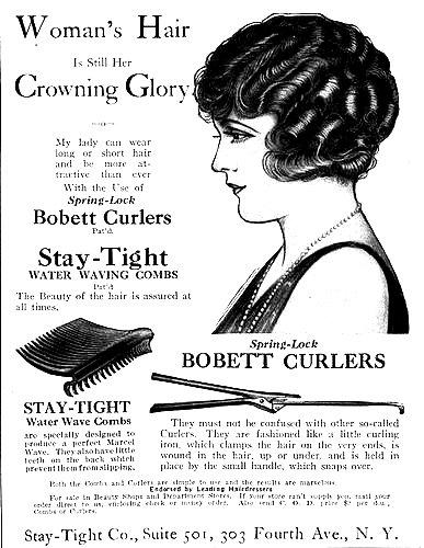 1930s Marcel Wave Advert