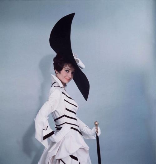 Edwardian Black & White Dress