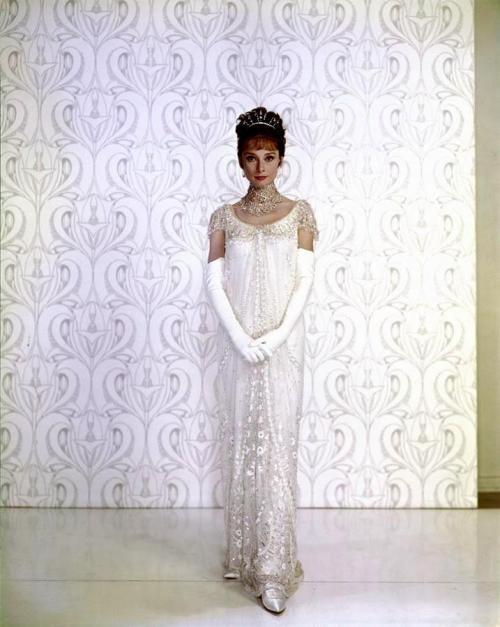 Downton Abbey-esque White Gown
