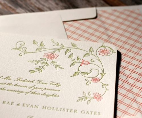 Romantic Vintage Wedding Stationery