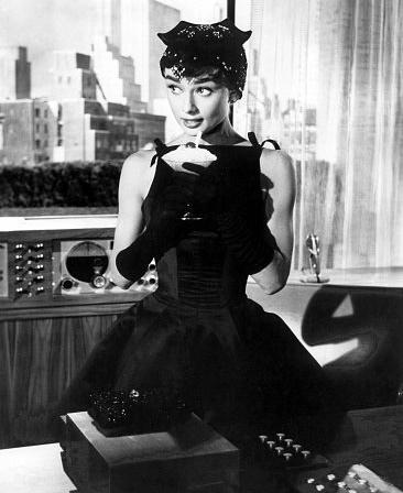 Bridesmaid Inspiration - Chic Black 1950s Dress