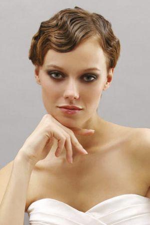Bridal - Short Hair Finger Wave