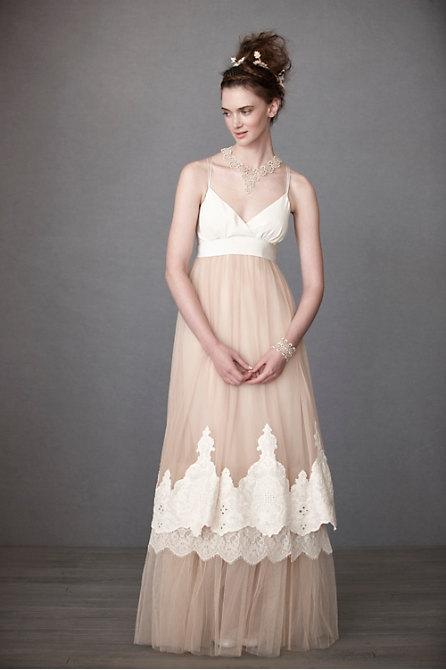 Whimsical Blush Bridal Gown