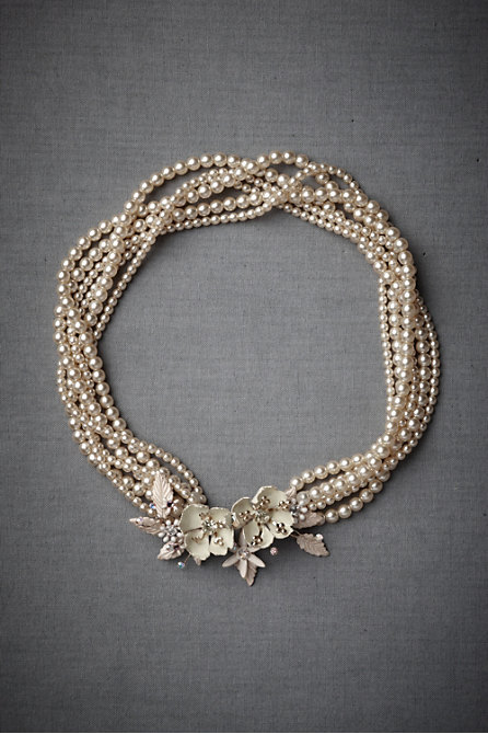 Pearl Floral Necklace