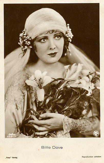 Billie Dove 1920s Veil