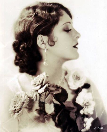 Billie Dove with 1920s Finger/Marcel Waves