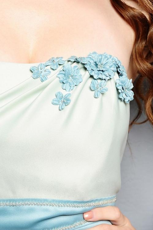 1950s Tiffany Blue Bridesmaid Dress