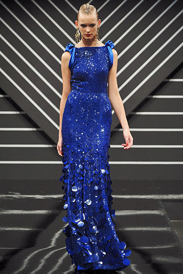 Blue Jenny Packham Dress
