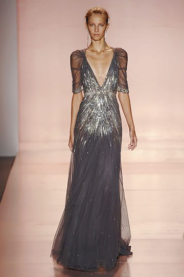 Jenny Packham Deco Inspired Starburst Dress