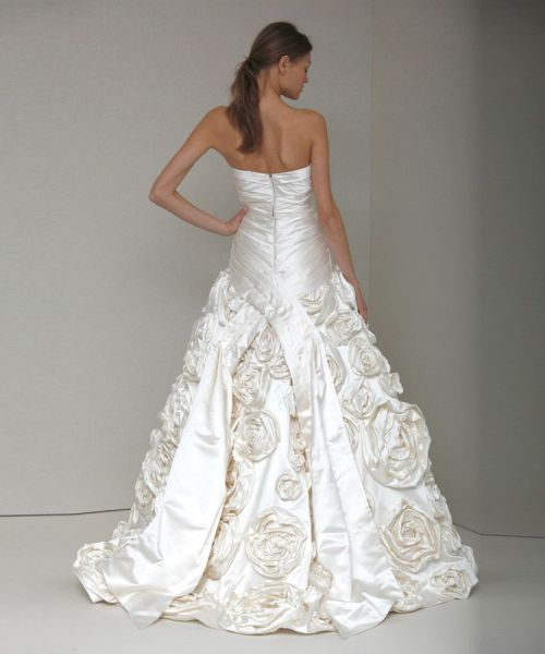 Monique Lhuillier Rose Wedding Dress Addison