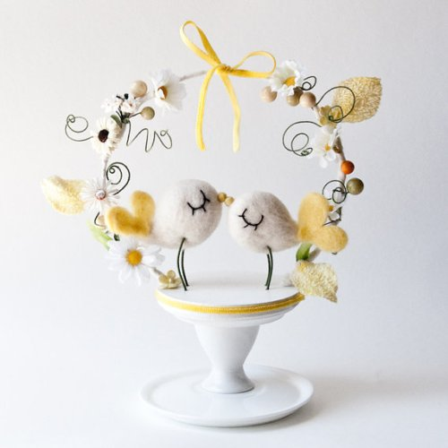 SO Cute Bird Cake Toppers