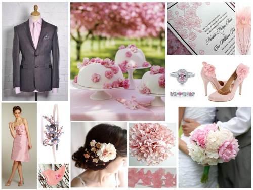 Pink Vintage Inspiration Board