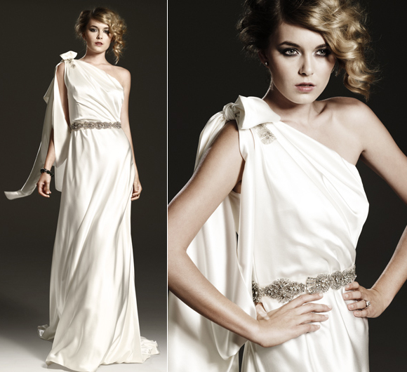 Goddess Wedding Dresses: Old Hollywood Glamour And Exquisite Embellishment From