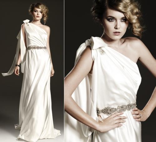 Greek Goddess Johanna Johnson Bridal Gown