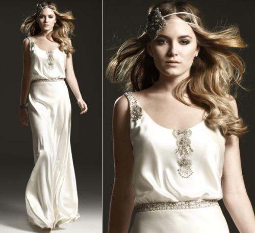 1930s Glamorous Bridal Gown