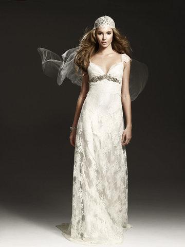 Vintage Lace Johanna Johnson Bridal Gown