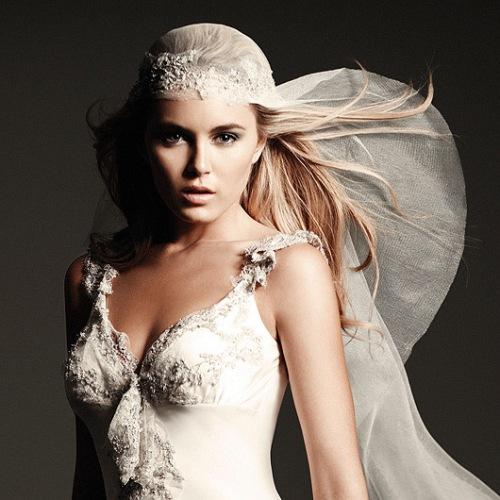 1920s Juliet Cap style Veil
