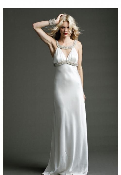 Johanna Johnson A Line Gown