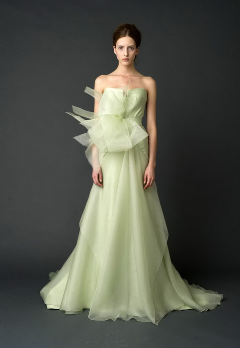 Mint Green Bridal Gown