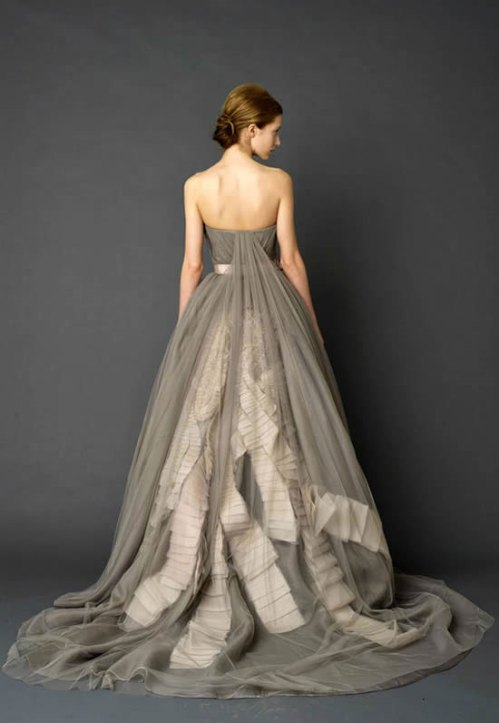 Charcoal Bridal Gown