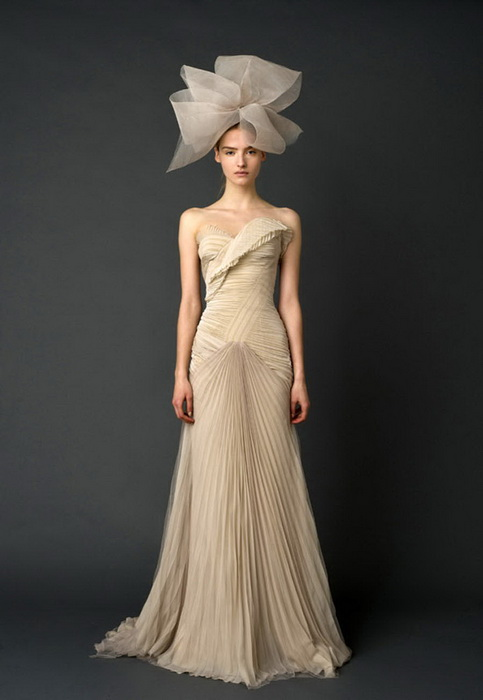 Nude Salmon Bridal Gown
